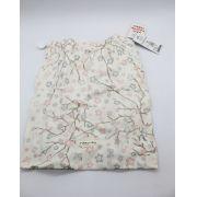 Saco de Roupa Suja Flores Creme - Dbella Ref 02335 003 u