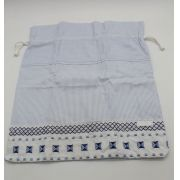 Saco de Roupa Suja Quadrado Azul - Kidstar Ref 10054