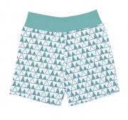 Shorts Triangulo Verde Tamanho p ao g - Batistela Ref 0i14
