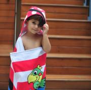 Toalha 3d Com Capuz Pirata - Baby Joy Incomfral Ref 04133319010008