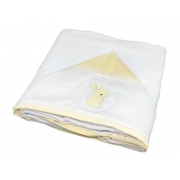 Toalha Banho Paris Amarelo Chambray - Ac Baby Ref 07162 10U