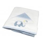 Toalha Banho Paris Azul Celeste Chambray - Ac Baby Ref 07162 8U