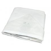 Toalha Banho Paris Branco- Ac Baby Ref 07162 1U