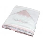 Toalha Banho Paris Rosa Quartzo - Ac Baby Ref 07162 286U