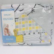 Toalha Com Capuz Estampa Ursos - Baby Joy Incomfral Ref 04063302010003