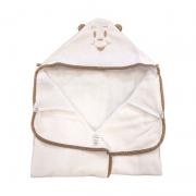Toalha de Banho Avental  Poa Bege - Cuca Criativa  Ref 253006