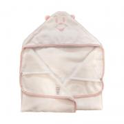 Toalha de Banho Avental Rosa - Cuca Criativa Ref 253003