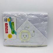 Toalha de Banho Forrada Com Capuz Leão - Fisher Price Incomfral Ref 30033302010003