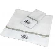 Toalha De Ombro Com 2 Unid Bici Geometric Exclusivo -  Ac Baby Ref 04140 49U