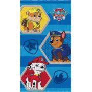 Toalha Felpuda de Banho Patrulha Canina Três Cachorros - Lepper Ref 06116088