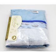 Toalhão De Banho Nuvem Azul Catavento Ref 805