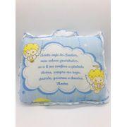 Travesseiro Anjo da Guarda Azul - Incomfral Ref 05003500010001