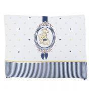 Travesseiro de Malha Camafeu Azul - Colibri Ref 1065880808806