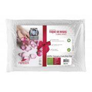 Travesseiro Toque de Rosas Plumax Lavável - Fibrasca