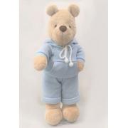 Urso de Pelucia Bob Agasalho Tricot Silvia Polito Ref 188