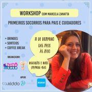 WORKSHOP 11/12 - PRIMEIROS SOCORROS com Marcela Zanatta - Bebê Casa