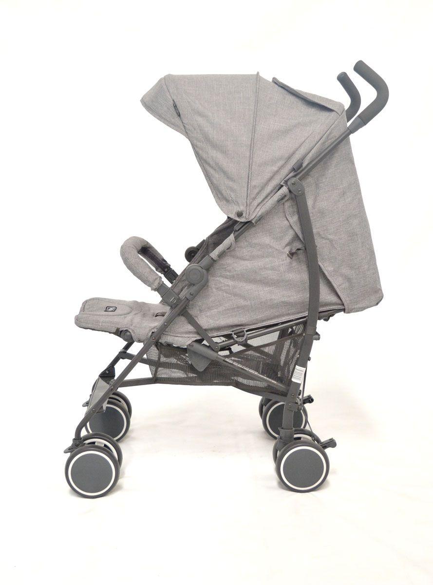 Carrinho Genua Woven Grey - Abc Design