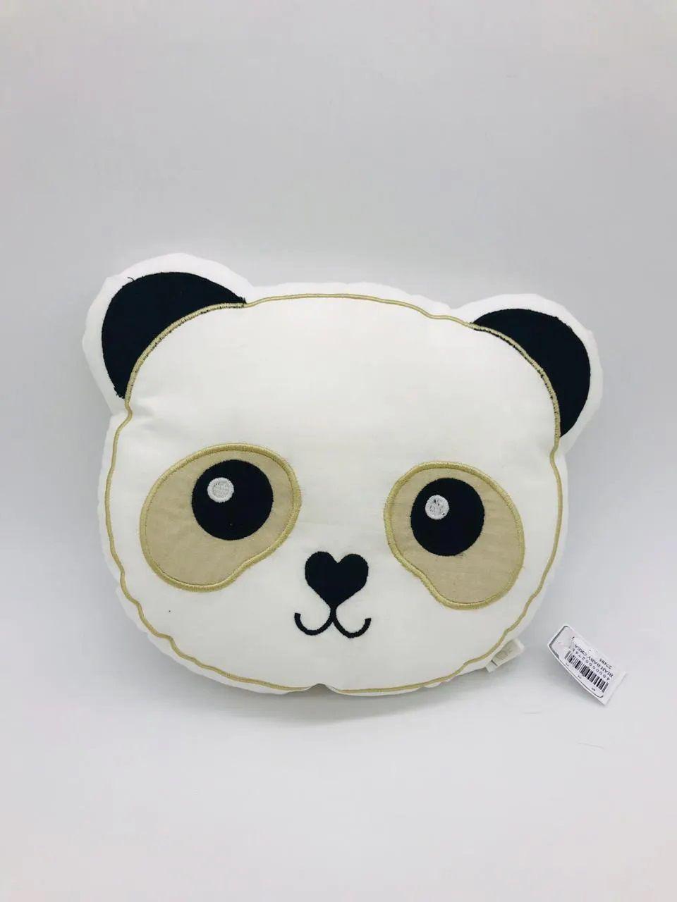 Almofada Decorativa Panda Redondo - Biah Baby