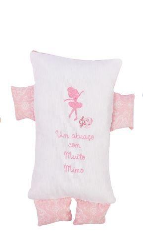 Almofada Formas Rosa Bebê - m Mimo Minasrey Ref 5553