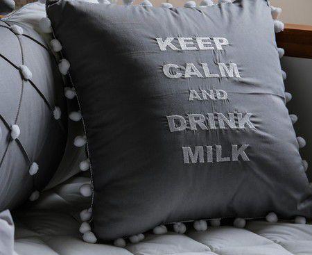 Almofada Keep Calm Pom Pom - ac Baby Ref