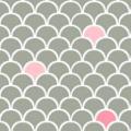 Almofada Multifuncional Escama Rosa - Cecibon