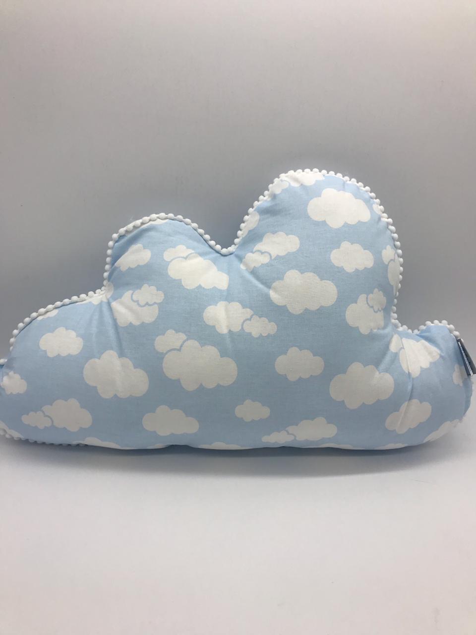 Almofada Nuvem Azul Bebe - Alvinha Minasrey Ref 5843