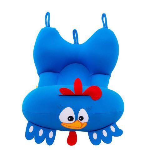 Almofada Para Banho Galinha Pintadinha Azul - Baby Pil Ref 058