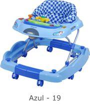 Andador Baby Coupe Azul - Burigotto Ref 3034