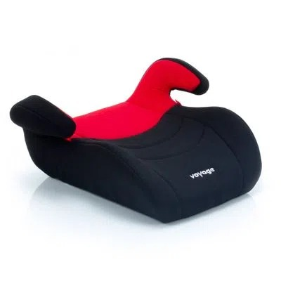 Assento Booster Top Preto/Vermelho - Voyage Dorel