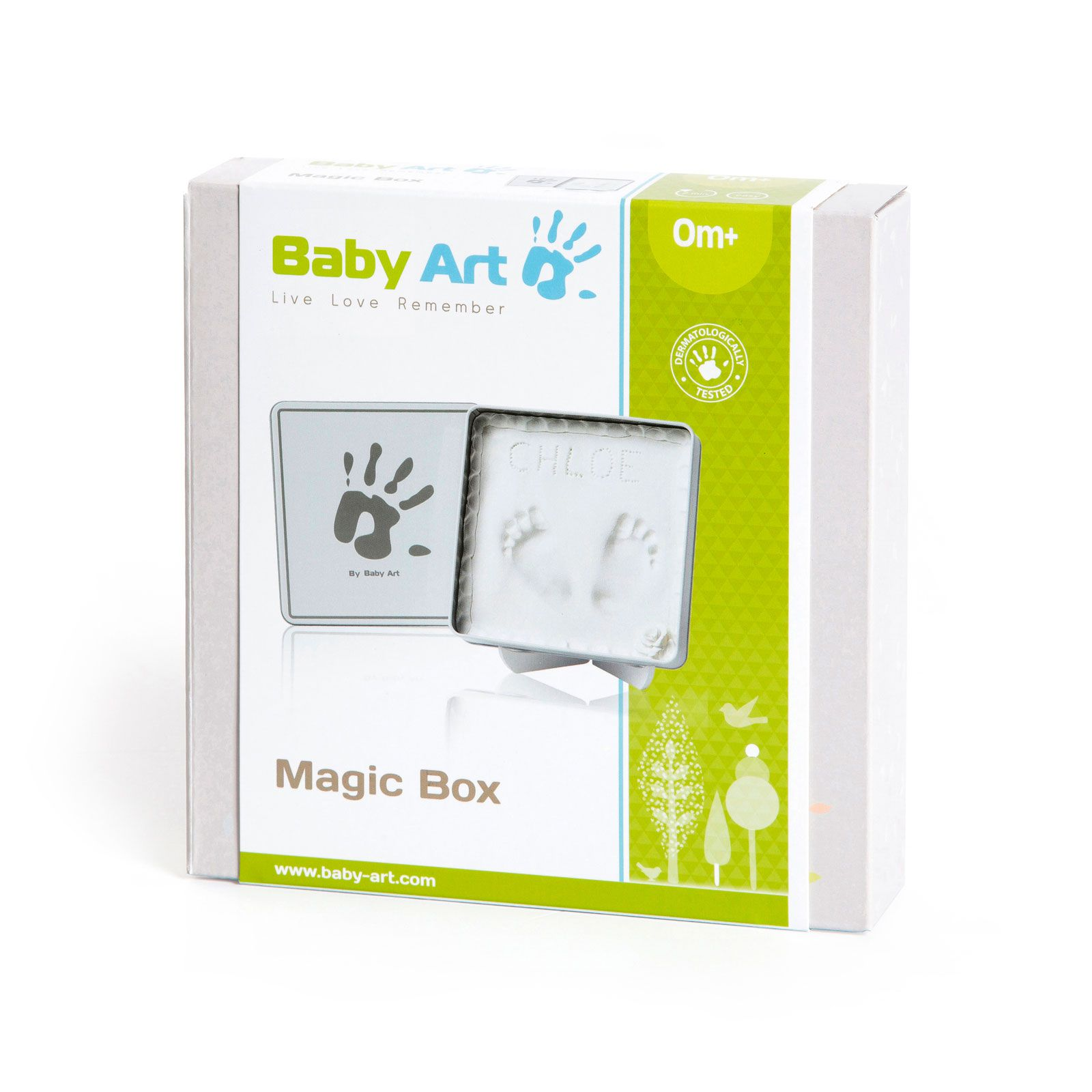 Magic Box Art White - Baby Art  Ref Imp91430