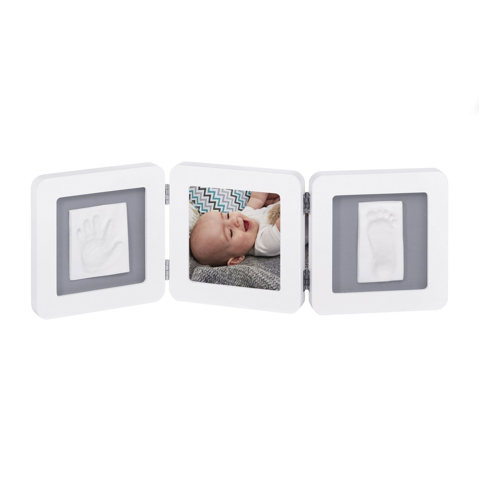 Touch Triplo 1p White e Grey  - Baby Art  Ref Imp91439