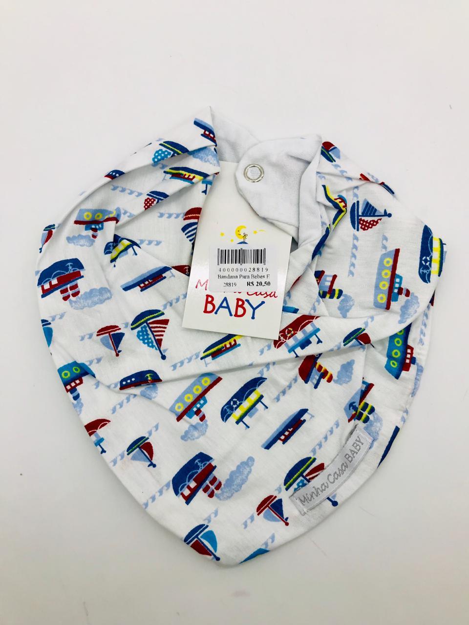 Bandana Barquinho - Minha Casa Baby Ref Bab107