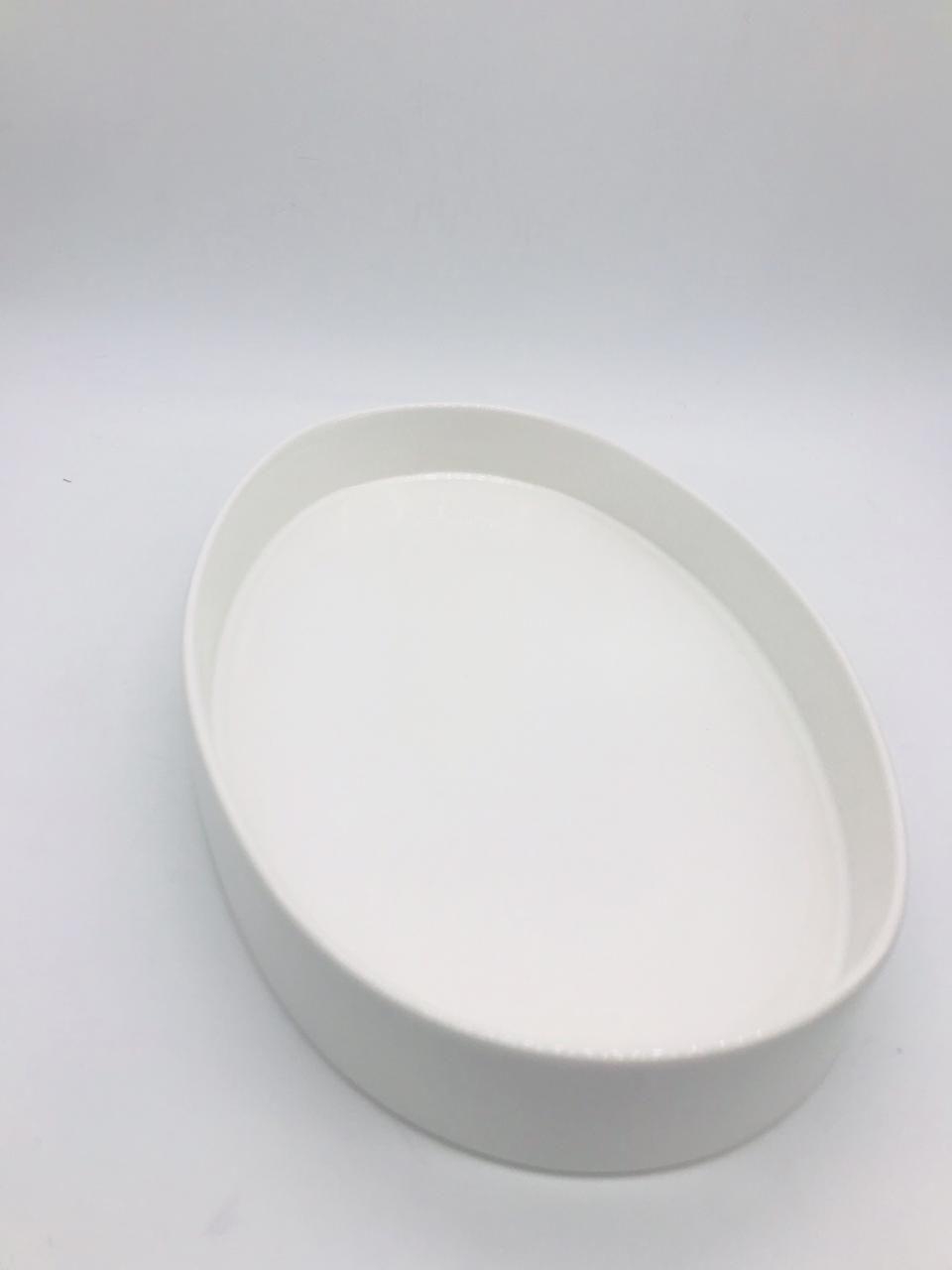 Bandeja Oval Branca - Rossi Niero