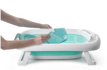 Banheira Comfy e Safe Safety Cor Aqua Green Dorel Ref IMP01522