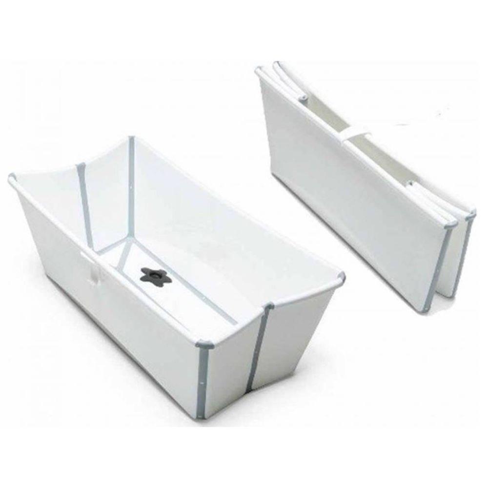 Banheira Dobrável Heat Sensitive Branca e Cinza - Stokke Girotondo Ref W531901
