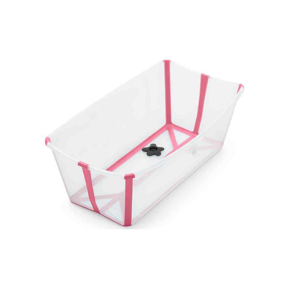 Banheira Dobrável Transparente Rosa Stokke - Girotondo Baby Ref W328808