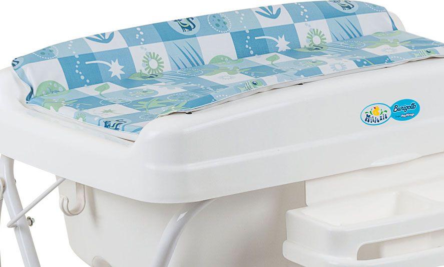 Banheira Millenia Peixinho Azul - Burigotto  Ref 3014