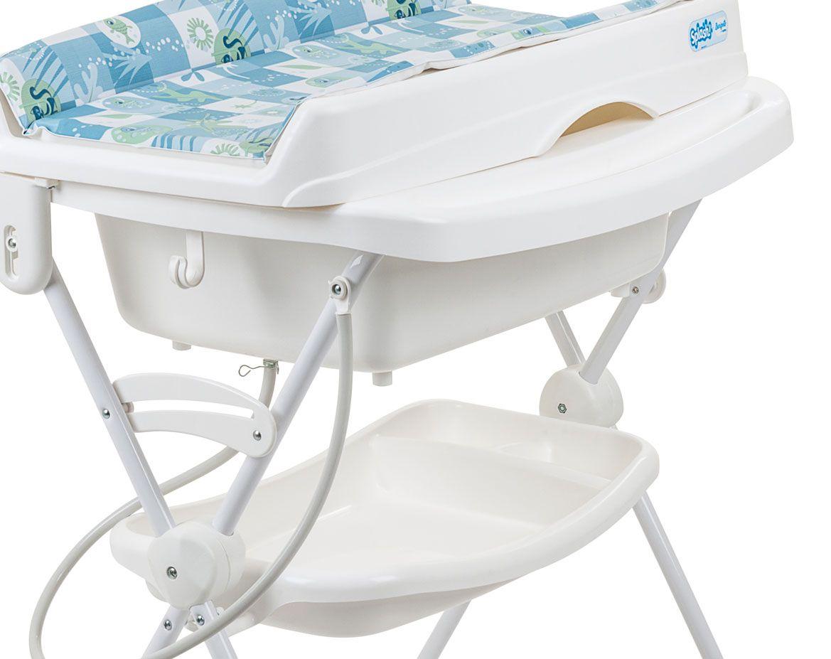 Banheira Splash Peixinhos Azul - Burigotto Ref 3043