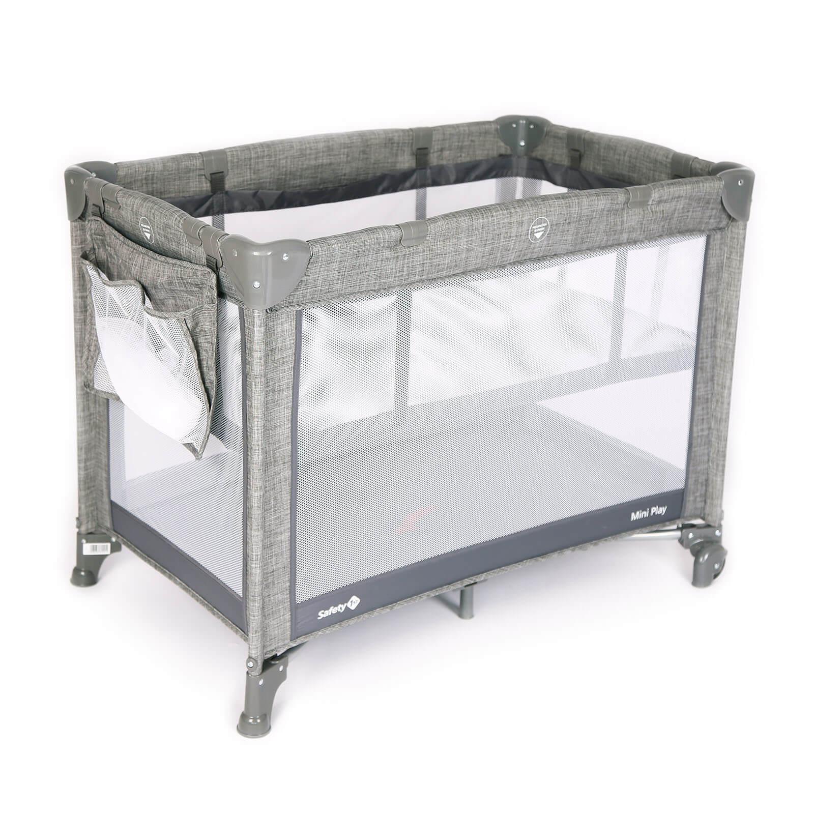 Berço Mini Play Grey - Safety 1st Ref C55-b