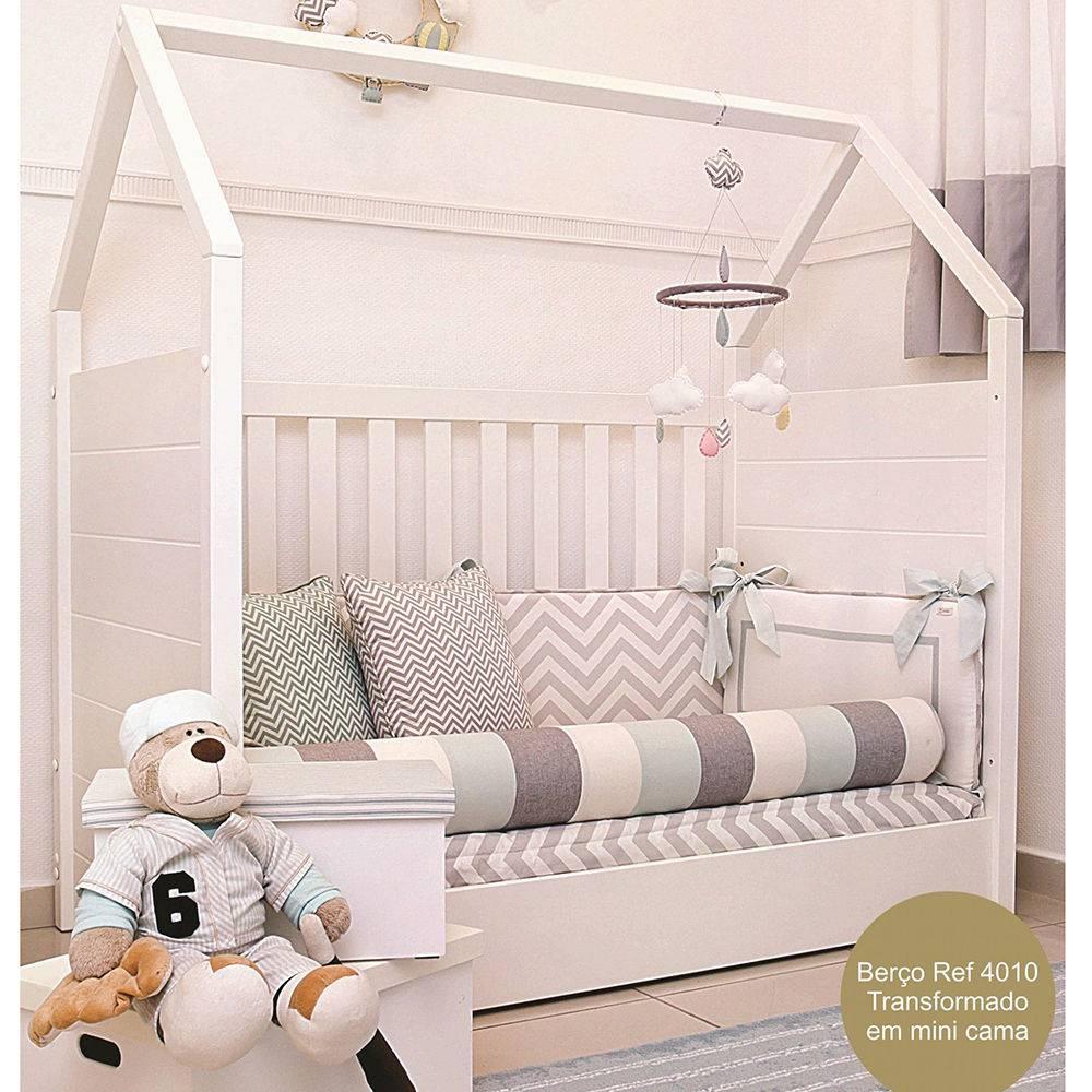 Berço Montessori Branco - Quater  Ref:4010