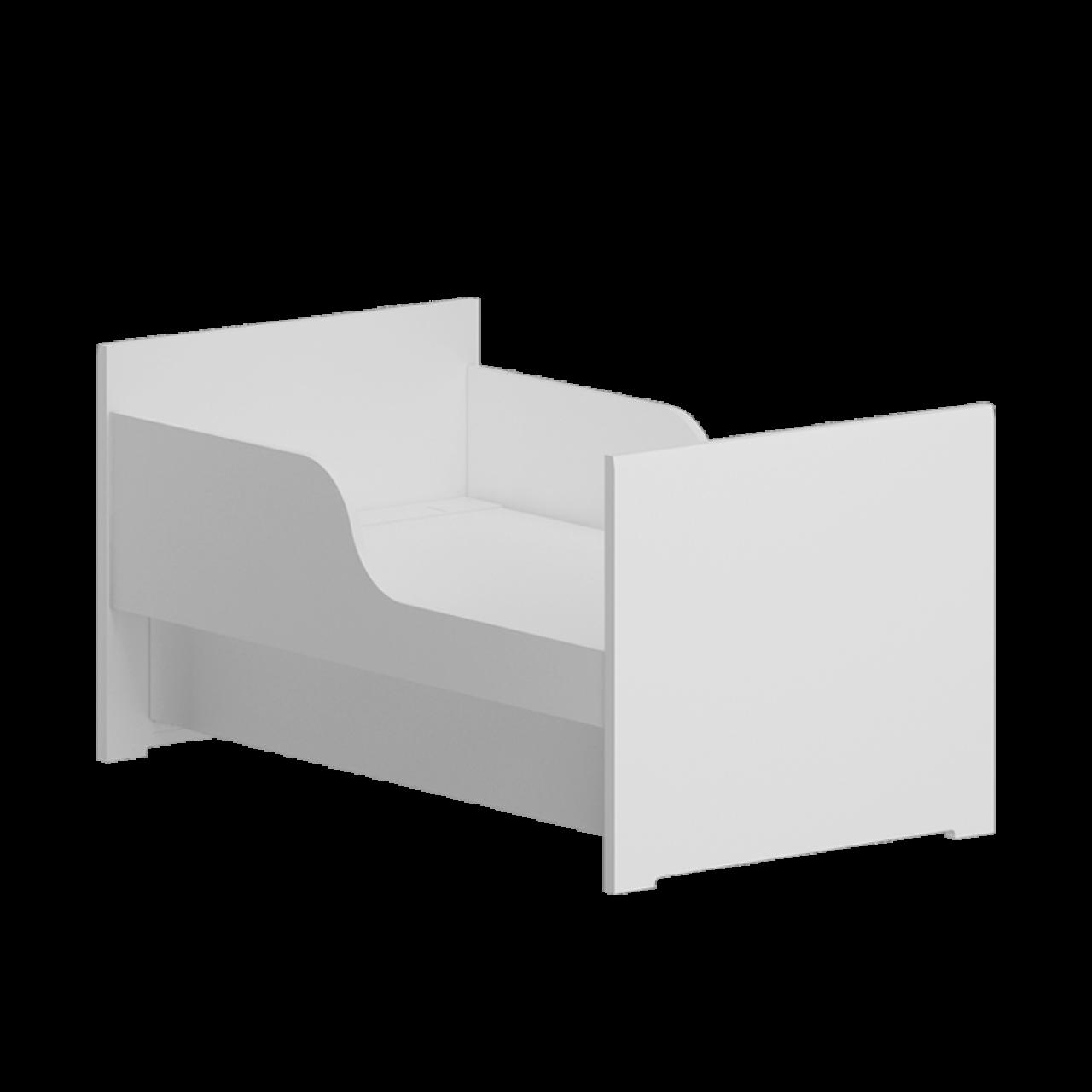 Berço Soft com Acrílico - Divicar  Ref:3183BAT8