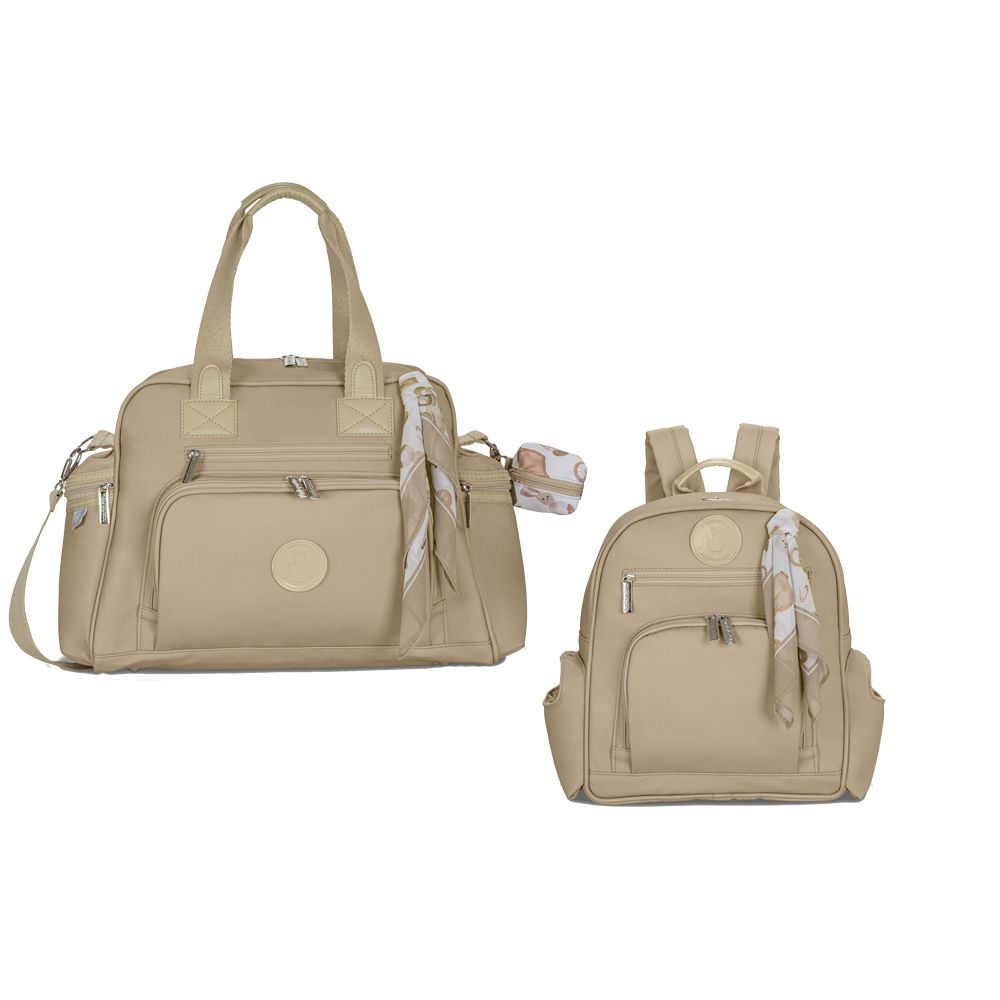 Bolsa Térmica Everyday + Mochila Noah Caqui Baby - Masterbag