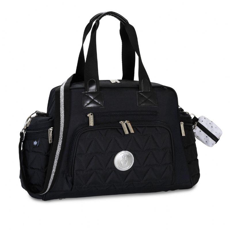 Bolsa Térmica Everyday  Preta e Prata - Masterbag Ref 11NYL299