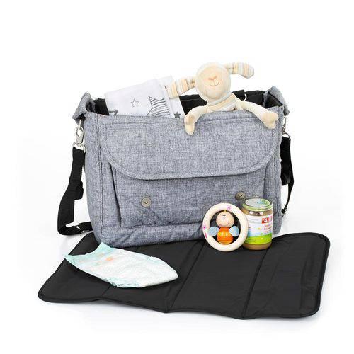 Bolsa Fashion Graphite Grey - Abc Design