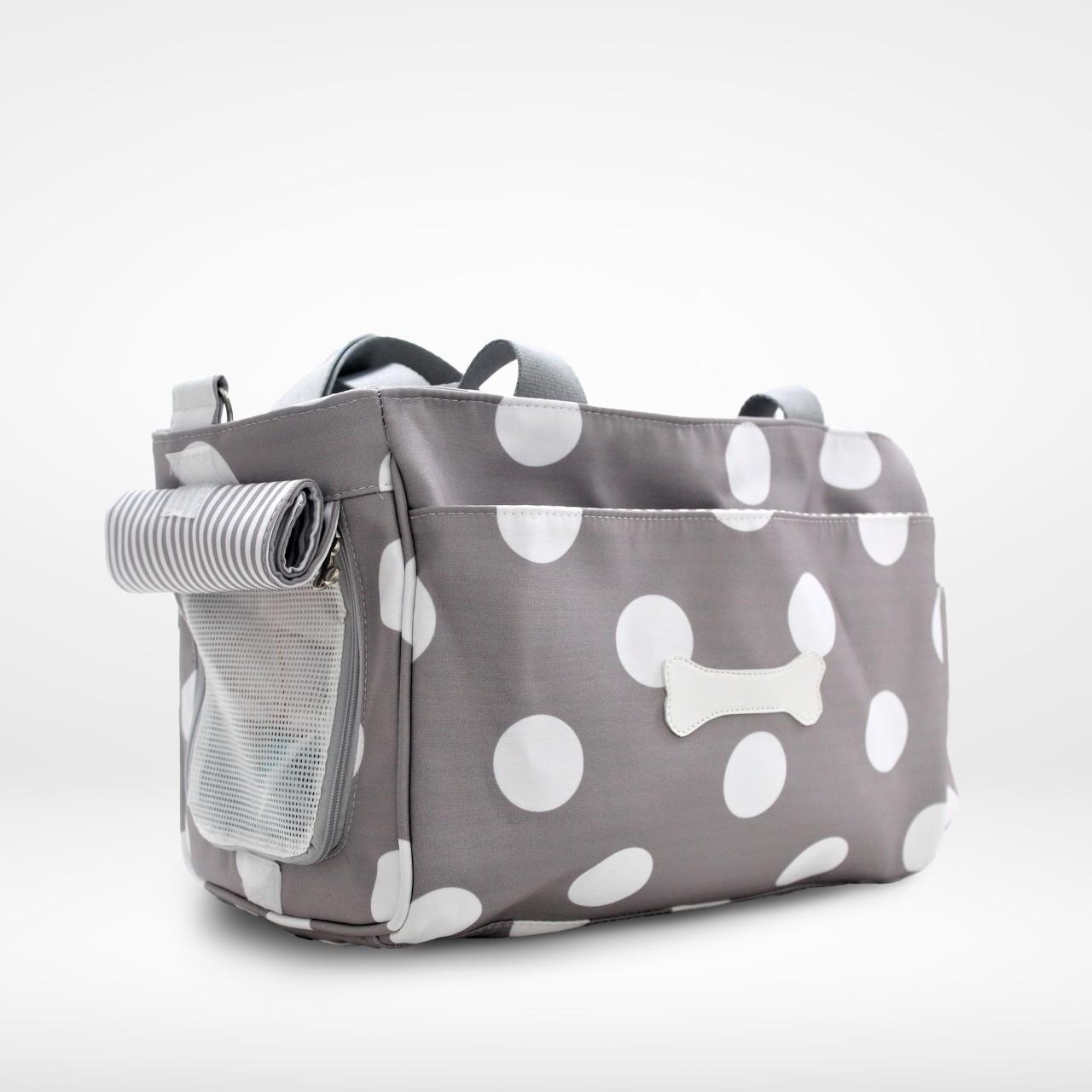 Bolsa Puppy Dog Cinza Bubble - Masterbag