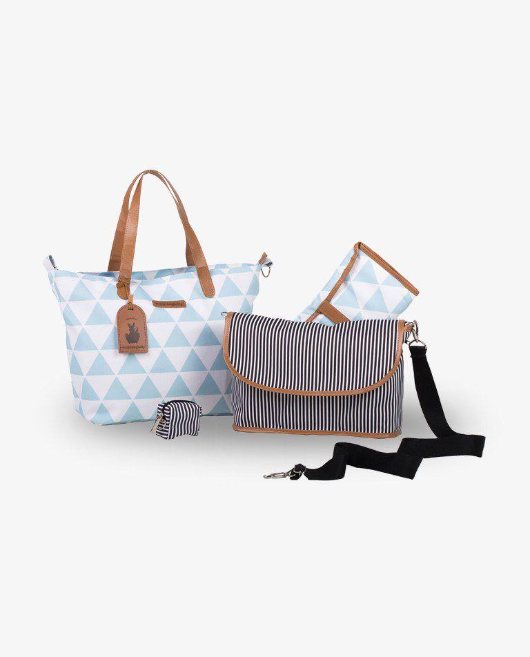 Bolsa Sofia Azul Manhattan - Masterbag Ref 12man398