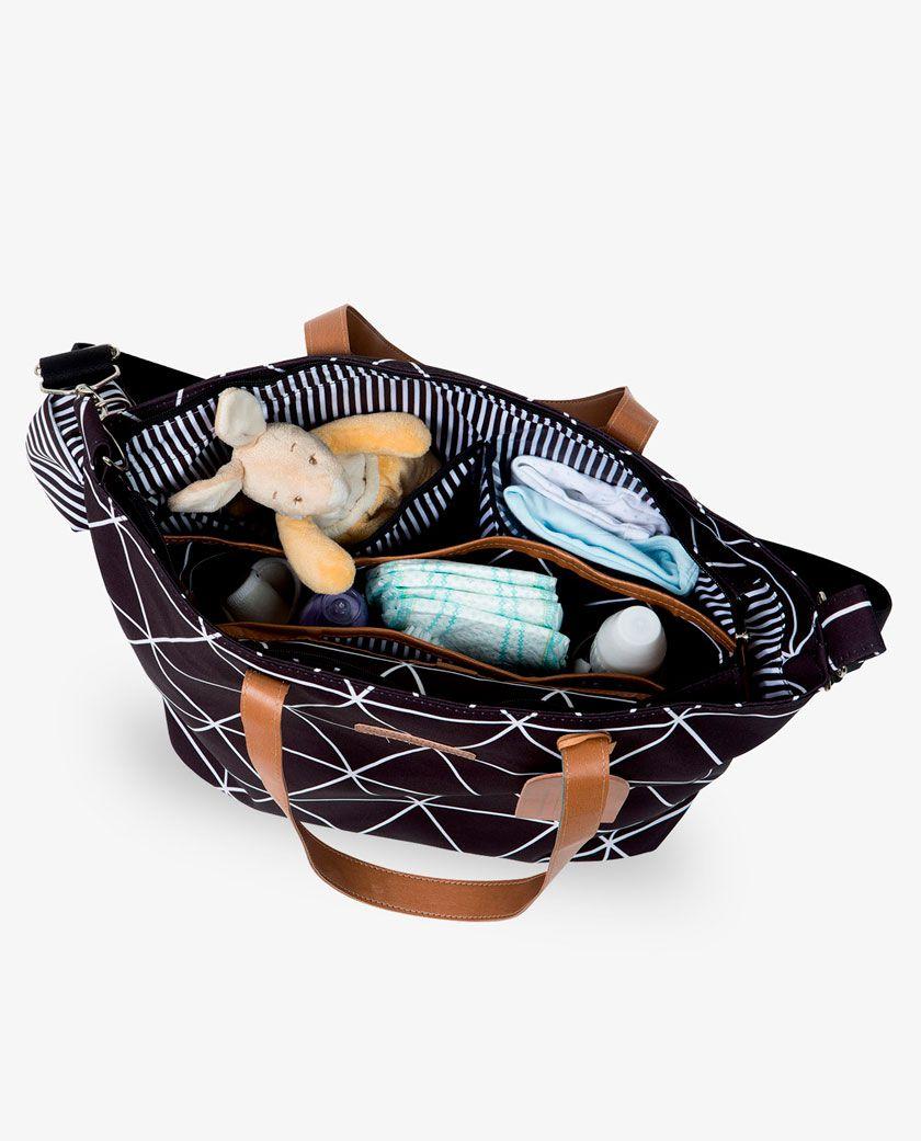 Bolsa Sofia Preta Manhattan - Masterbag Ref 12man398p