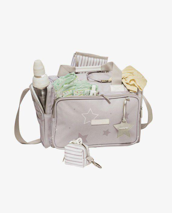 Bolsa Térmica Anne Cinza Estrelas - Masterbag Ref 12est210