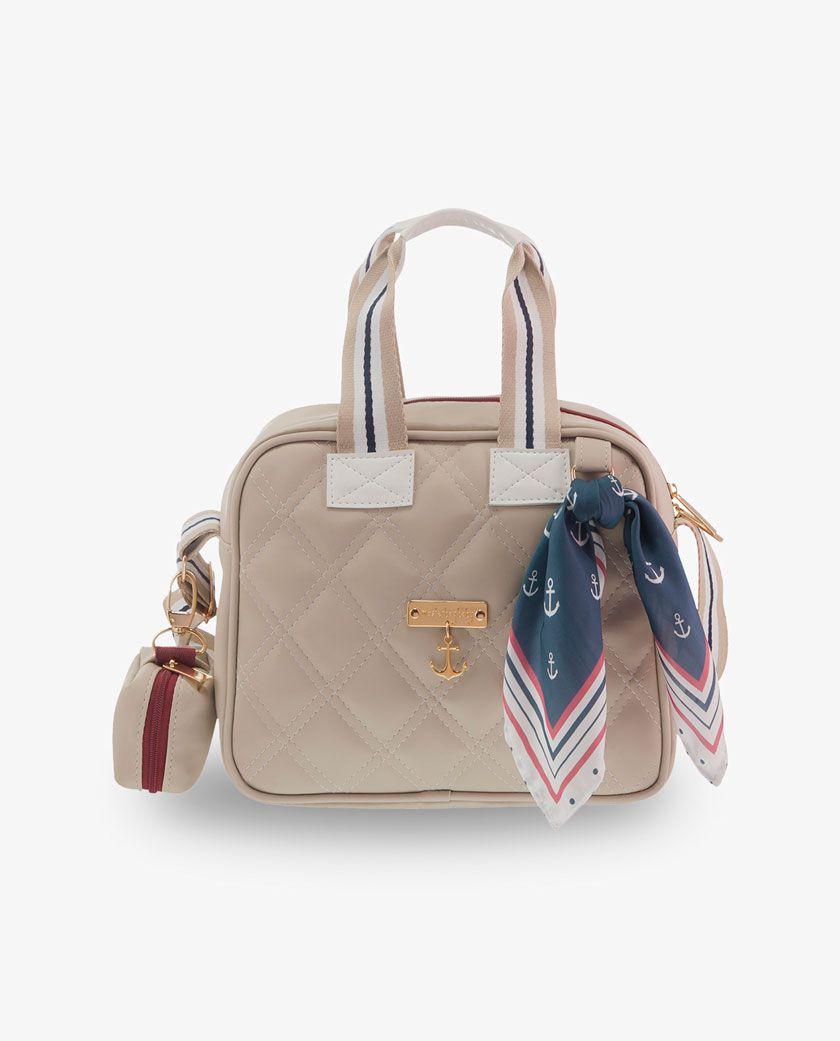 Bolsa Térmica Organizadora Marfim Nautica - Masterbag Ref 11nau206