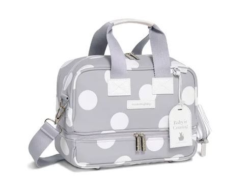 Bolsa Termica Vicky Bubbles Cinza - Masterbag Ref 12bub205